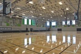 Porter Equipment: Divider Curtains/Basketball Hoops