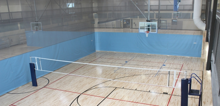 Fold Up Gymnasium Divider Curtain