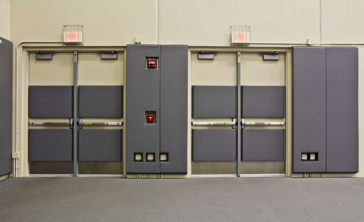 Gymnasium Safety: Padded Doors