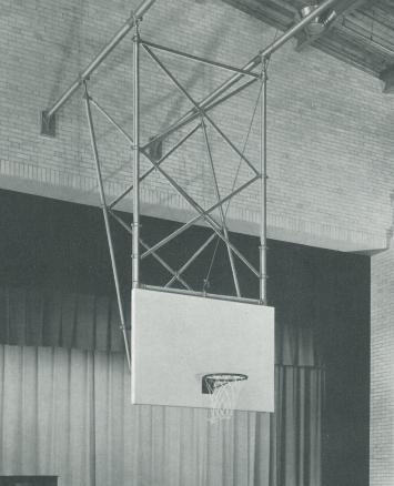 1930's backstop